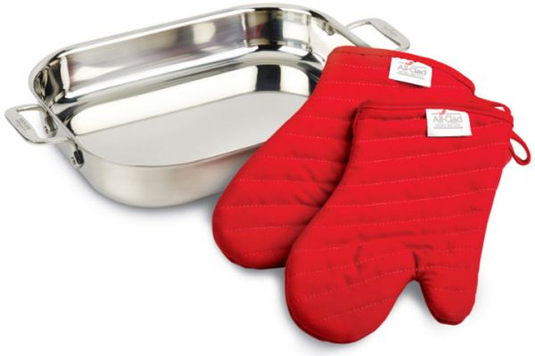 All-Clad Stainless Steel Lasagna Pan Gift Set - 00830