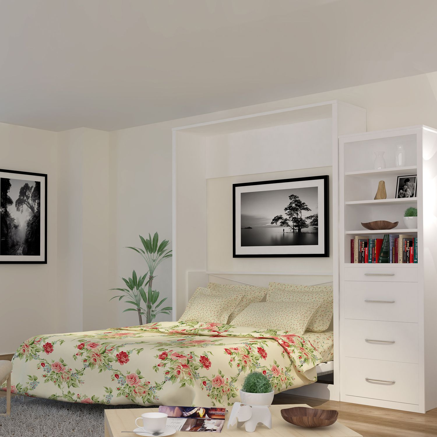 Leto muro alexa anthracite queen wall bed alex10pq wh an larger image 1 2 3 amipublicfo Images