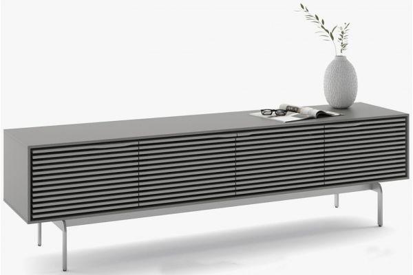 Large image of BDI Fog Grey Quad Console Low Cabinet - 7473 CO-FOG