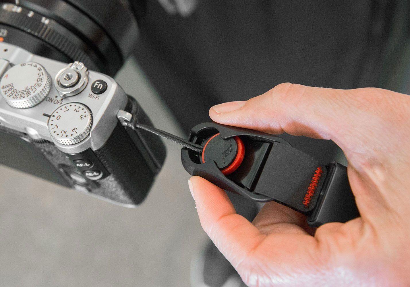 Peak Designs Cuff Camera Wrist Strap Cf Bl 3 Design Sll Bk Slide Lite Mirrorles Sling Black