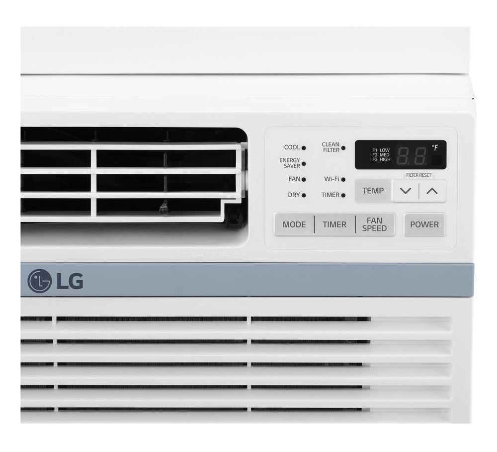 Lg 10 000 Btu 12 1 Eer Window Air Conditioner Lw1017ersm