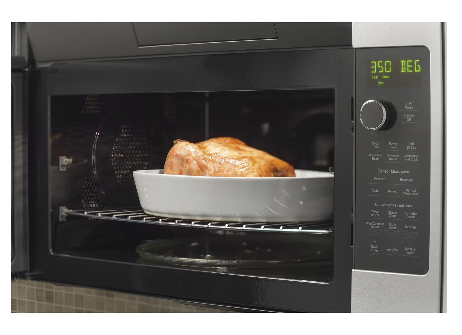 Ge Profile Over The Range Convection Microwave Oven