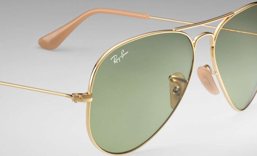 febd709dc Ray-Ban Aviator Evolve Gold Aviator Sunglasses - RB3025 90644C 58