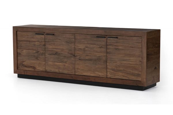 Large image of Four Hands Wesson Collection Spalted Alder Couric Sideboard - UWES-057A