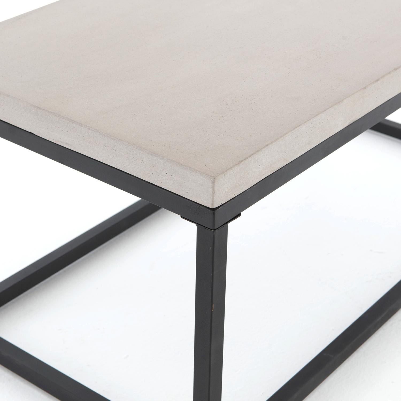 Four Hands Maximus Concrete Coffee Table VCNS F003B