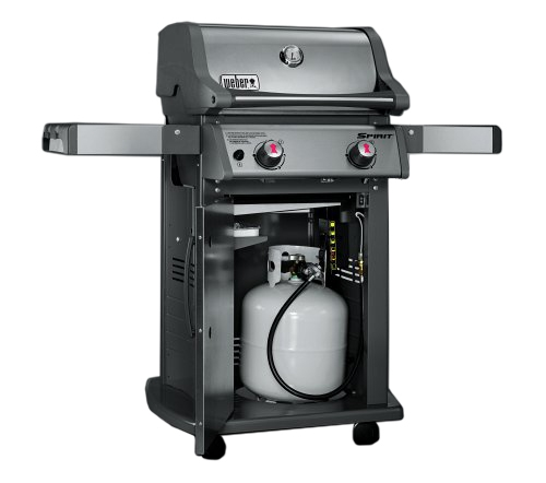 weber spirit s 210 propane outdoor gas grill 46100001. Black Bedroom Furniture Sets. Home Design Ideas