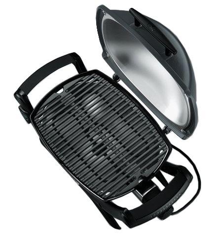weber q 1400 portable electric outdoor grill 52020001. Black Bedroom Furniture Sets. Home Design Ideas