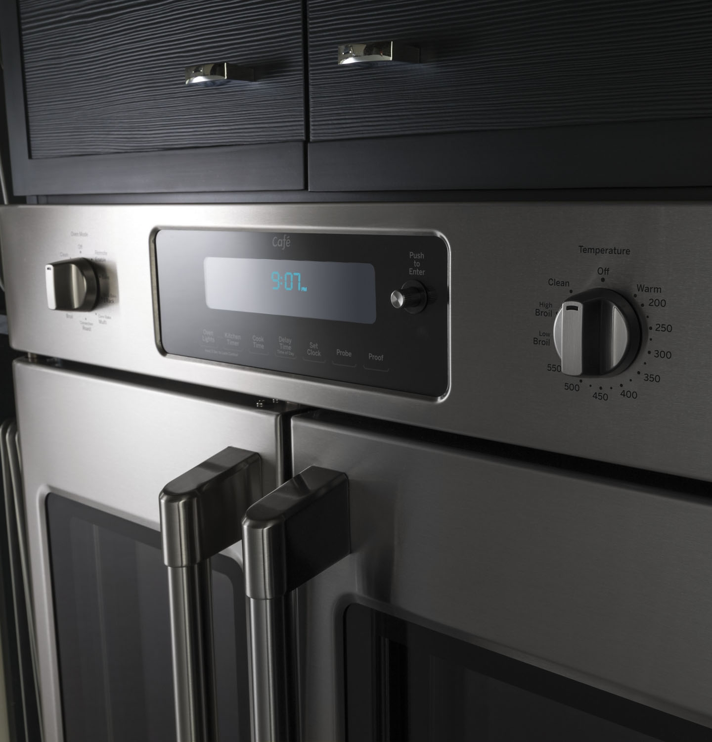 Ge Cafe 30 Quot Stainless French Door Wall Oven Ct9070sh
