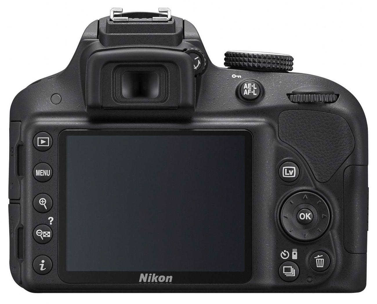 Nikon D3300 Digital SLR Camera 18-55mm VR Lens Kit - 1532