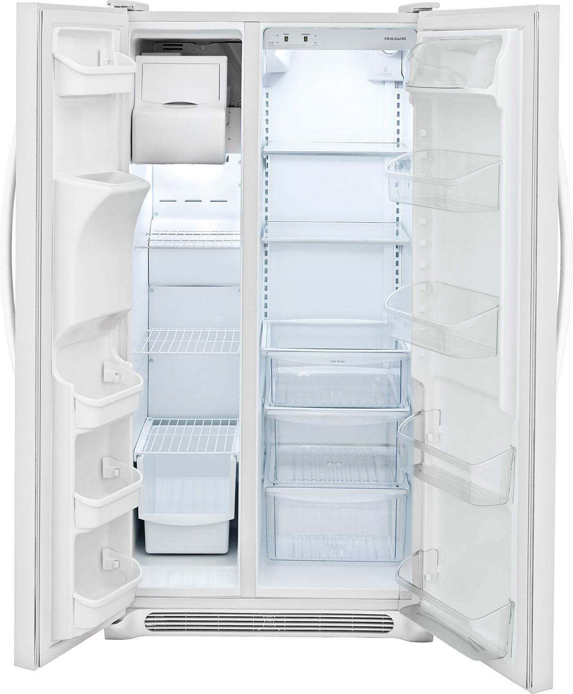 Frigidaire White Side-By-Side Refrigerator - FFSS2315TP