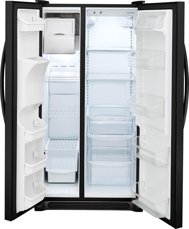 Frigidaire Black Side-By-Side Refrigerator - FFSS2615TE