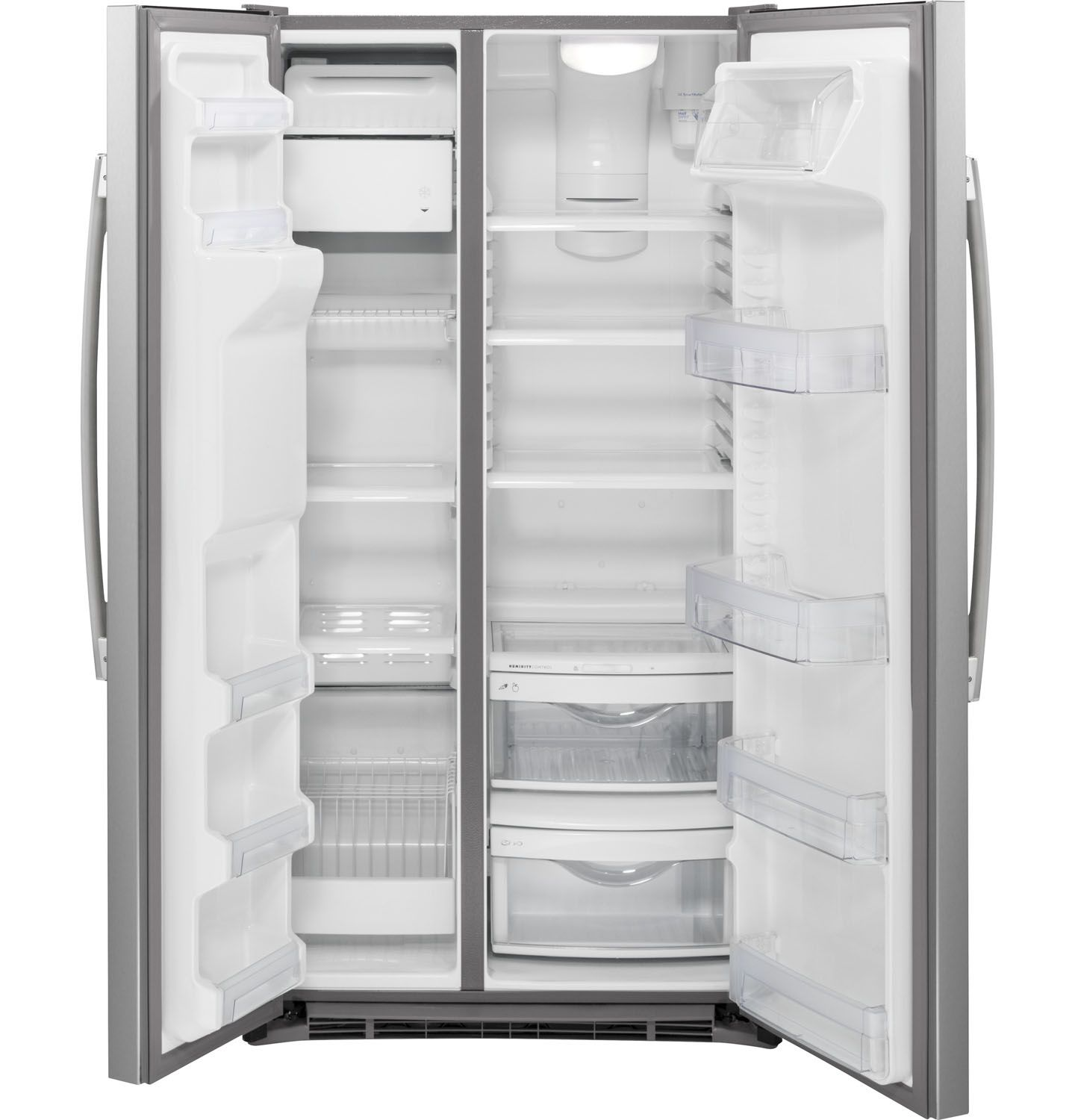 Ge Stainless Side By Side Refrigerator Gzs22dsjss