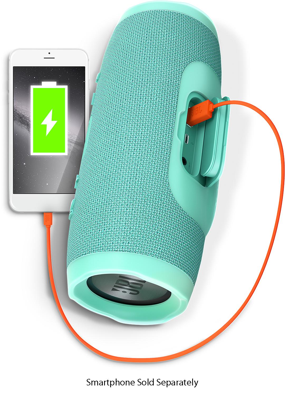 Jbl Charge 3 Teal Bluetooth Speaker Jblcharge3tealam