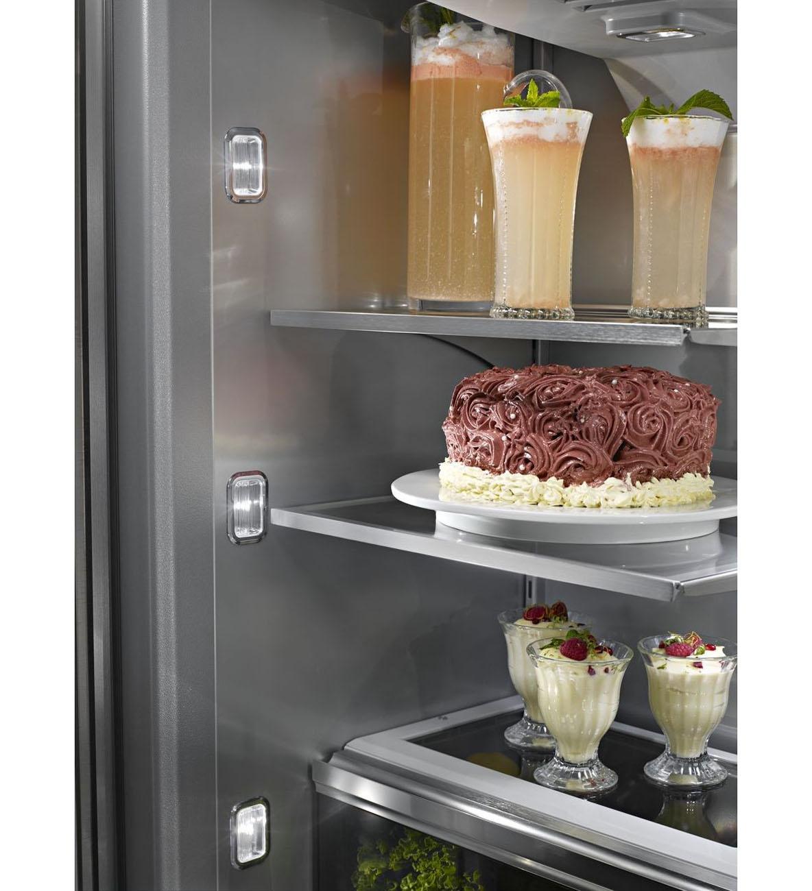 """Kitchenaid Kbfn502ebs Bs 24 2 Cuft Black Stainless Steel 3: KitchenAid 42"""" French Door Refrigerator"""