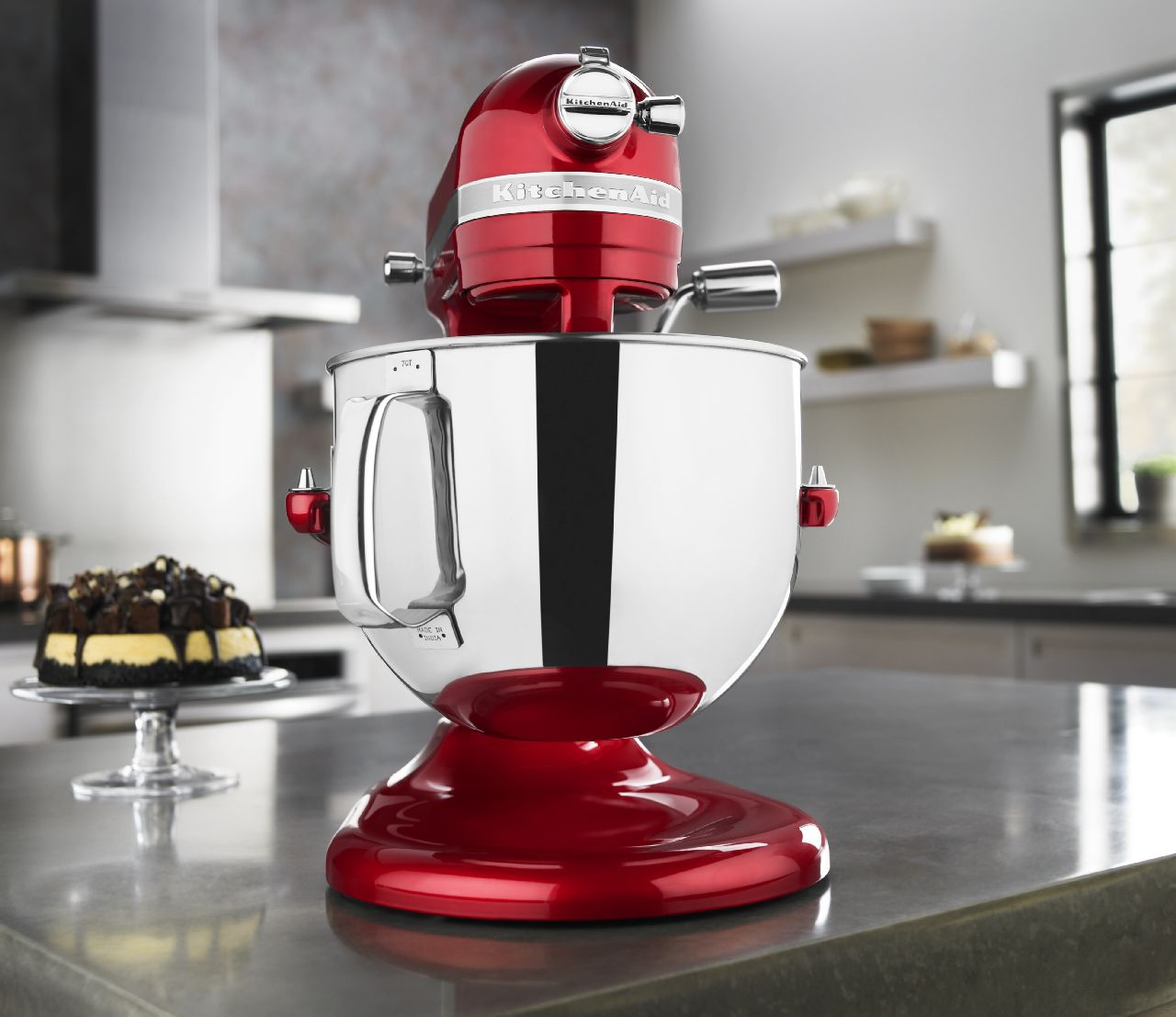 kitchen aid pro line mixer