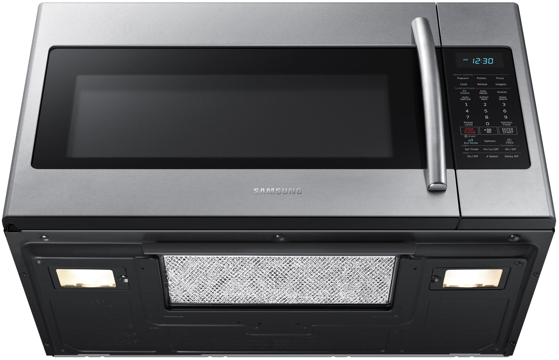 Samsung Over The Range Microwave Me18h704sfs Aa