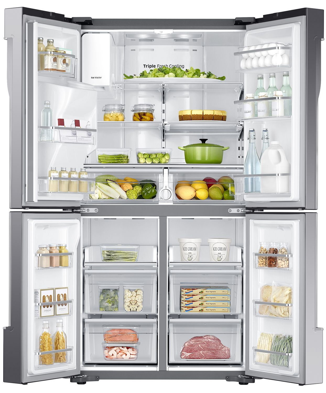 Samsung counter depth french door refrigerator rf23j9011sraa main image 2 1 3 rubansaba