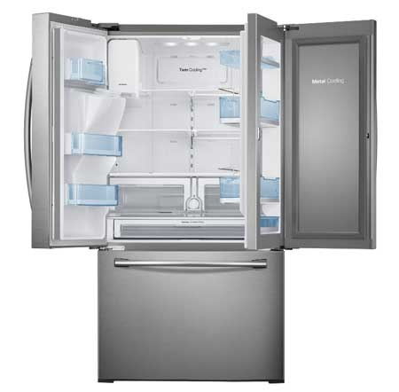 Samsung French Door Stainless Refrigerator Rf28hdedbsr Aa