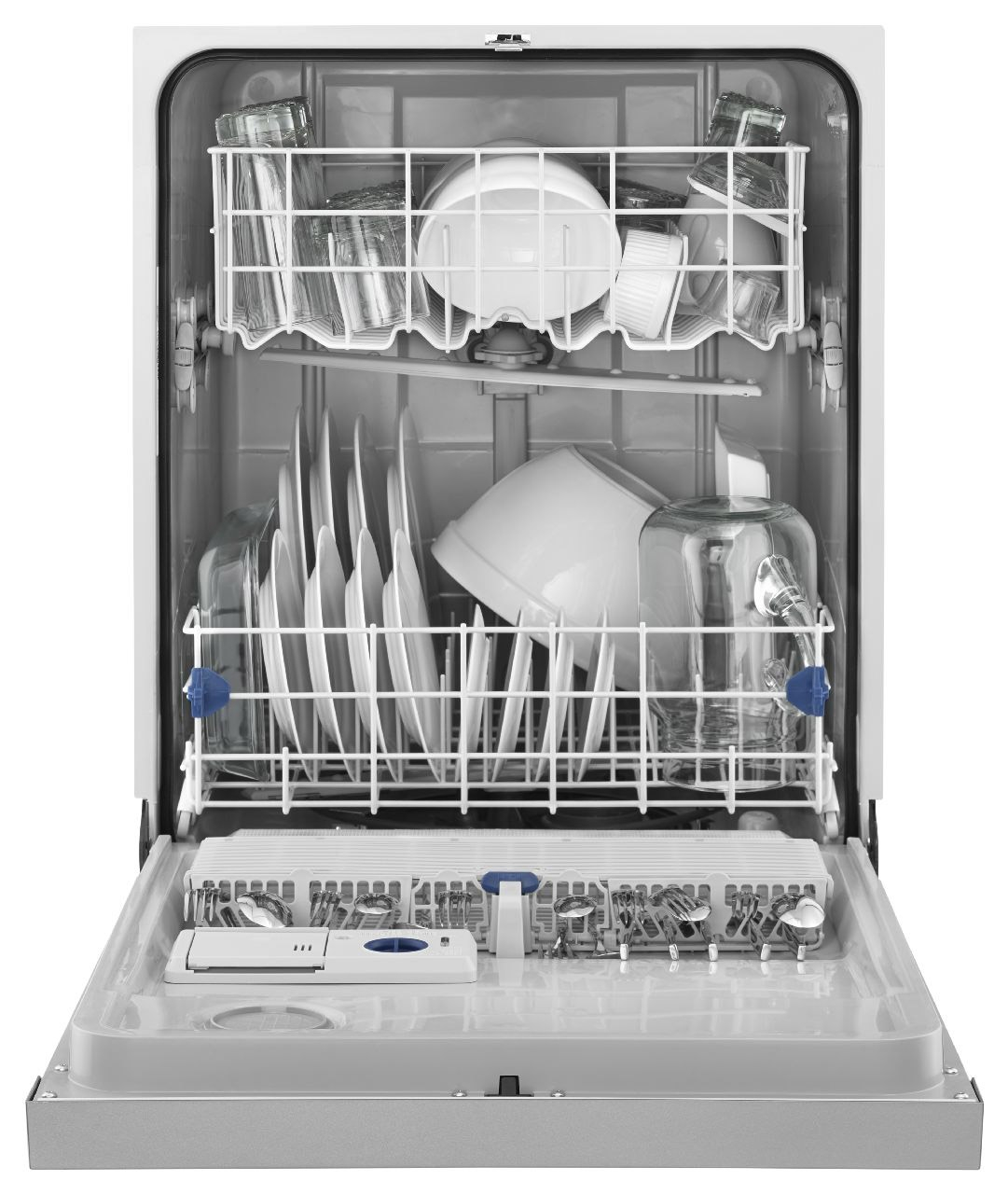 Whirlpool White Built-In Dishwasher