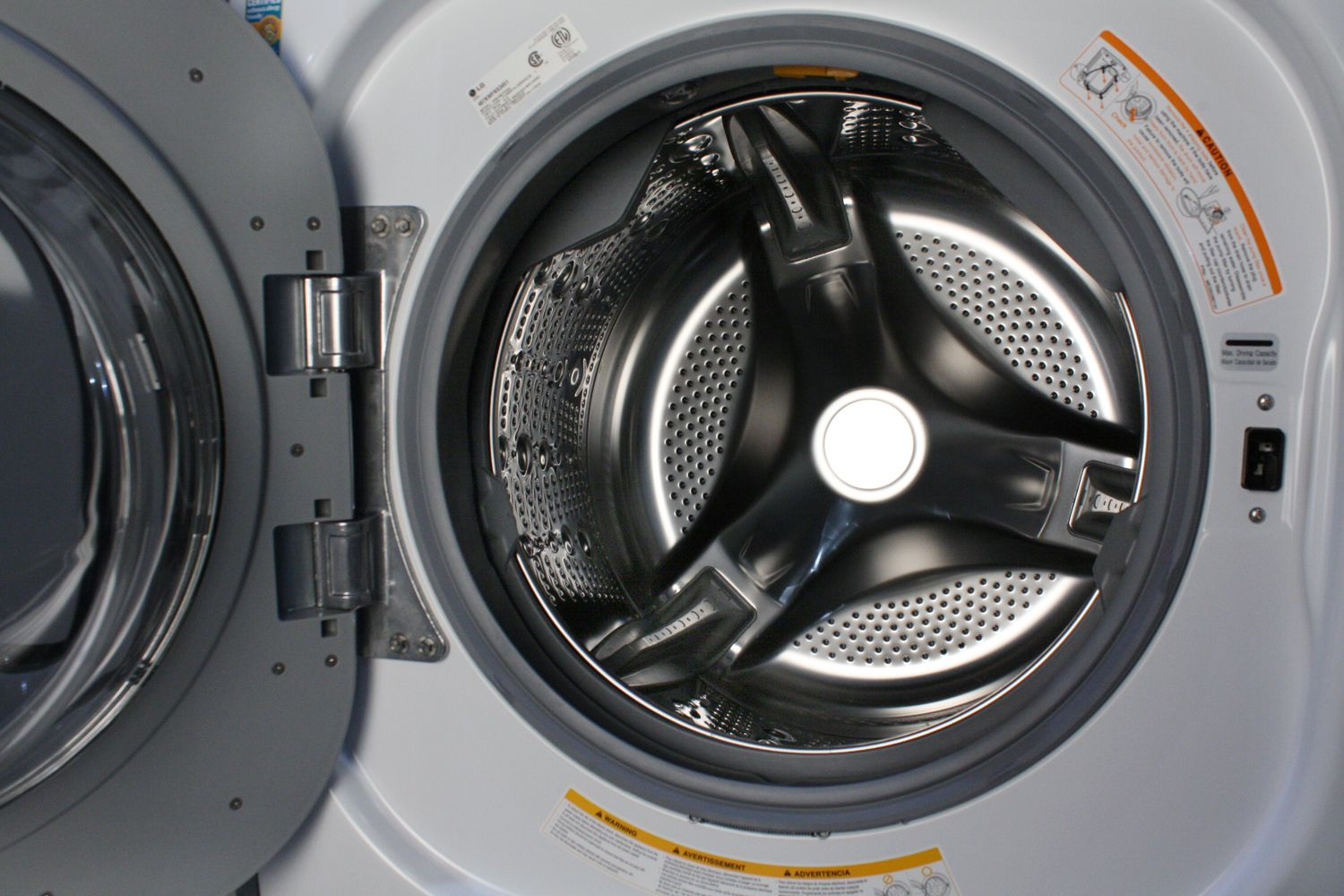 Lg 2 3 cu ft all in one washer and dryer - Lg Wm3997hwa Washer Dryer Combo Units Main Image 1 2 Interior