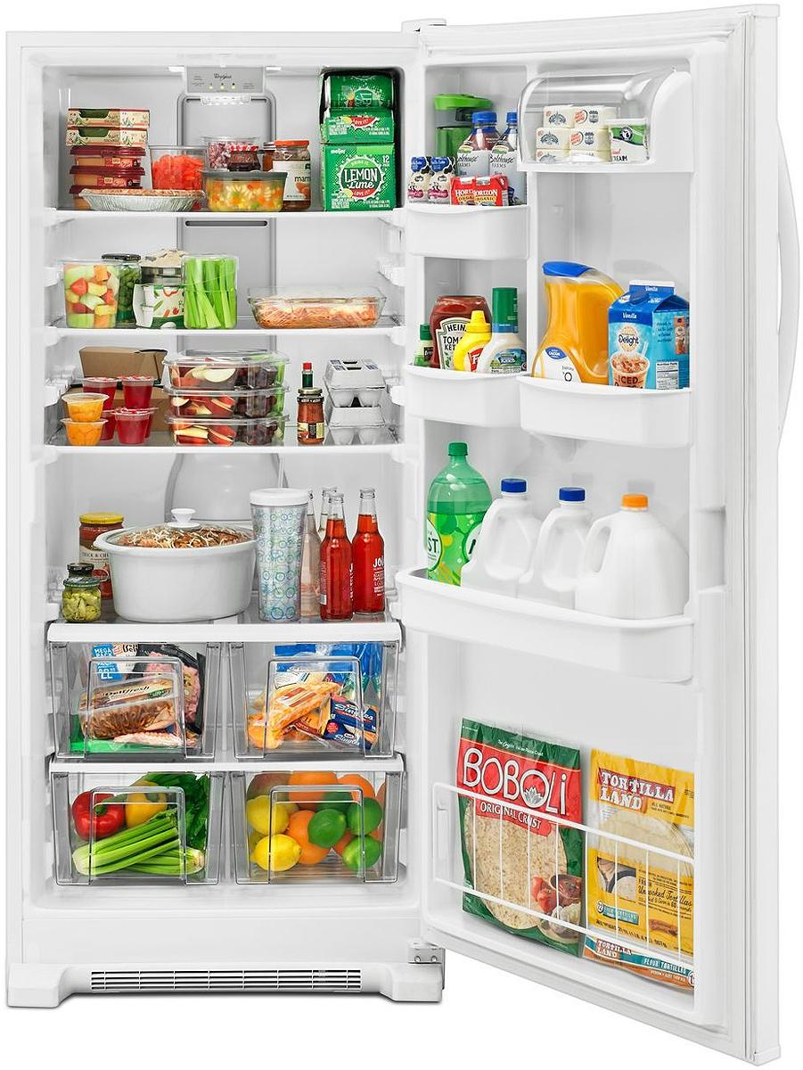 Whirlpool White Freezerless Refrigerator - WRR56X18FW Whirlpool WRR56X18FW  - 1 Whirlpool WRR56X18FW - 2 Whirlpool WRR56X18FW - 3 ...