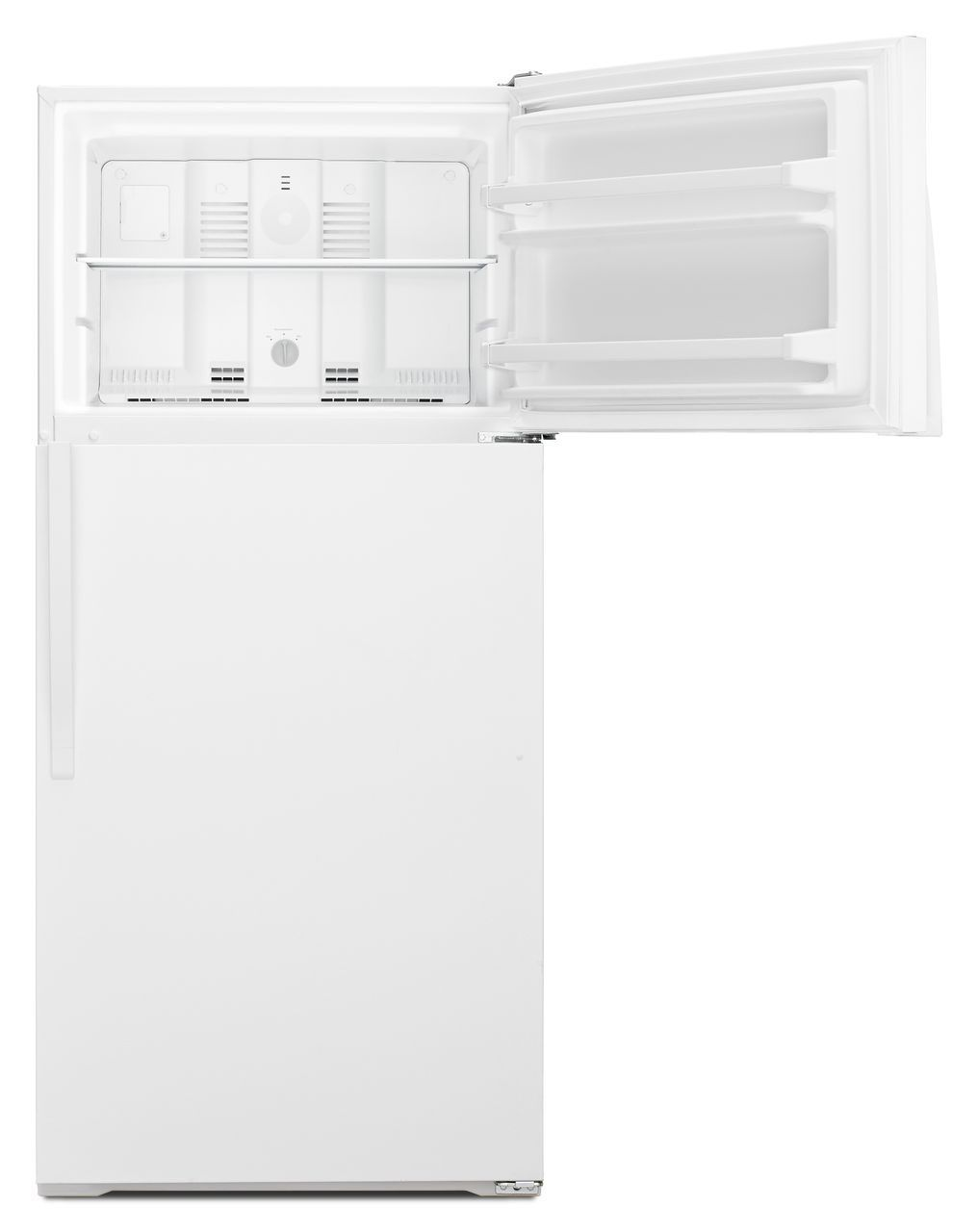 Whirlpool White Top-Freezer Refrigerator - WRT104TFDW