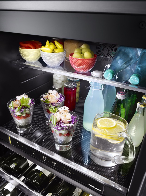 KitchenAid Black Stainless Beverage Center KUBR304EBS
