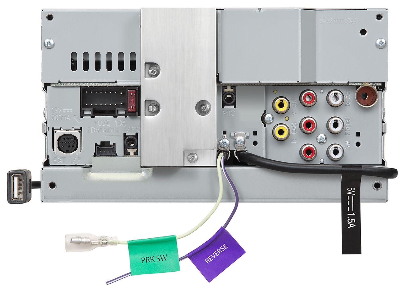 JVC Double DIN Multimedia Car Stereo