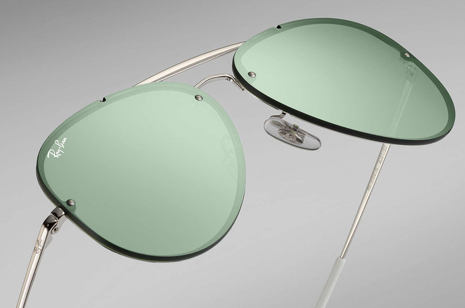 0bdd64aa7e Ray-Ban Aviator Mirror Sunglasses - RB3584N 905130 61-13
