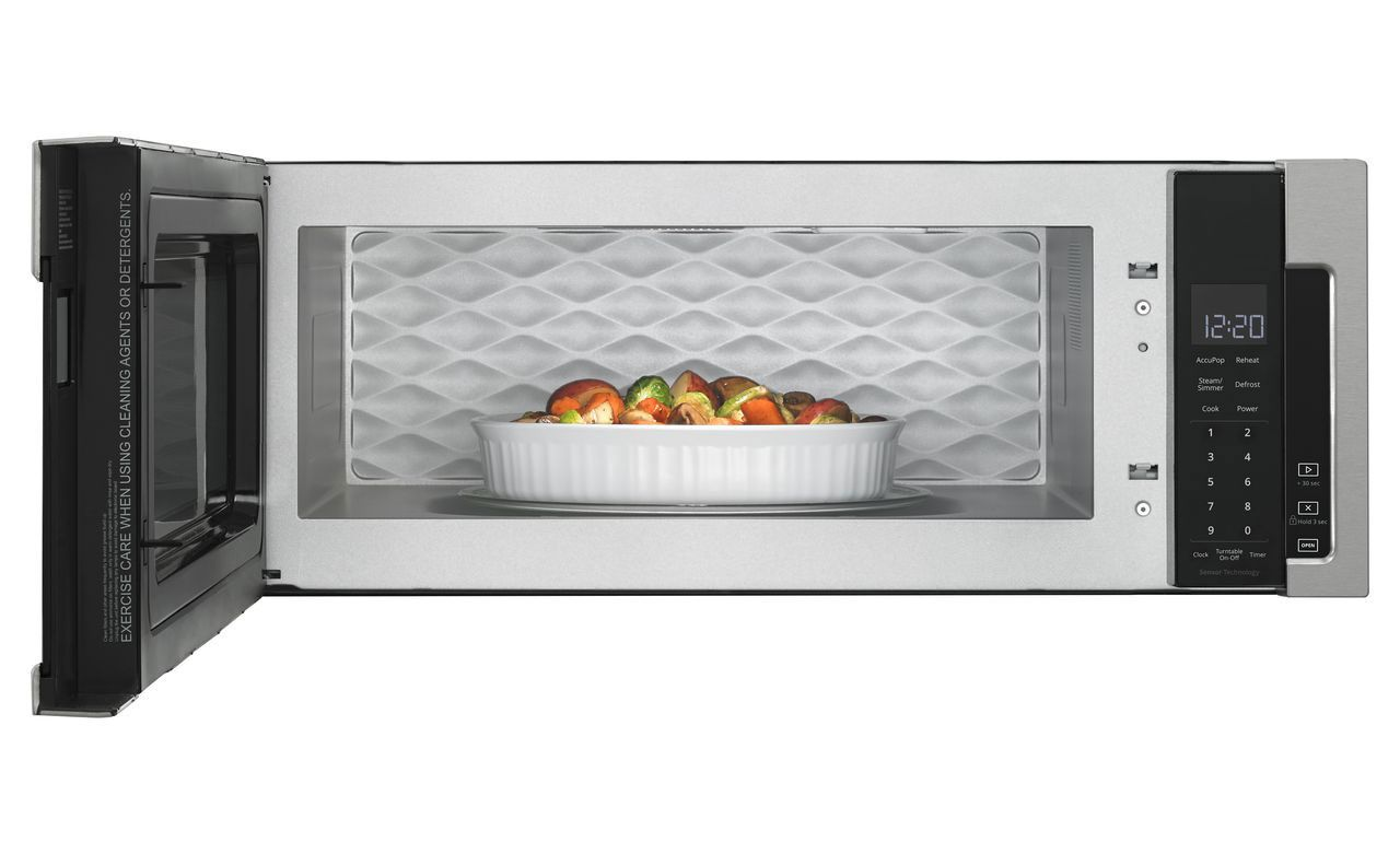 Whirlpool Microwave Low Profile Hood Combination Capacity