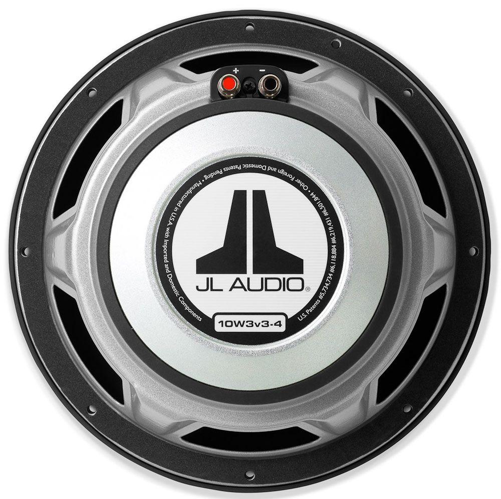 Jl audio 10 quot subwoofer driver 10w3v3 4 abt