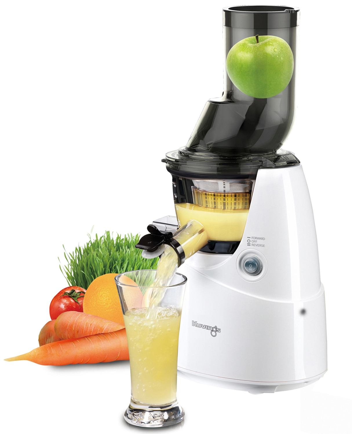 Kuvings Slow Juicer Assembly : Kuvings White Whole Slow Juicer - B6000W - Abt