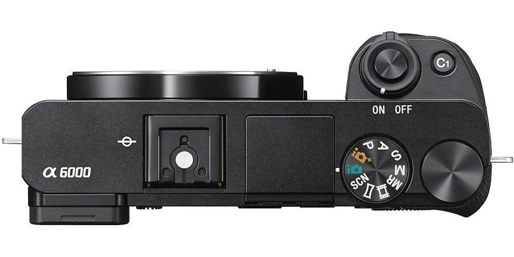 Sony Alpha A6000 Mirrorless Camera Body Ilce 6000 B