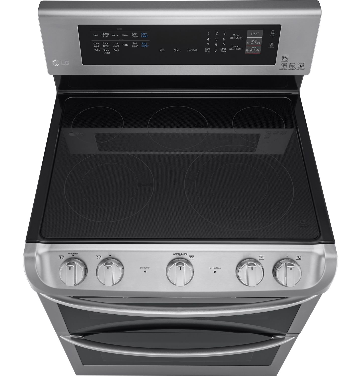 Lg Stainless Double Electric Range Lde4415ss