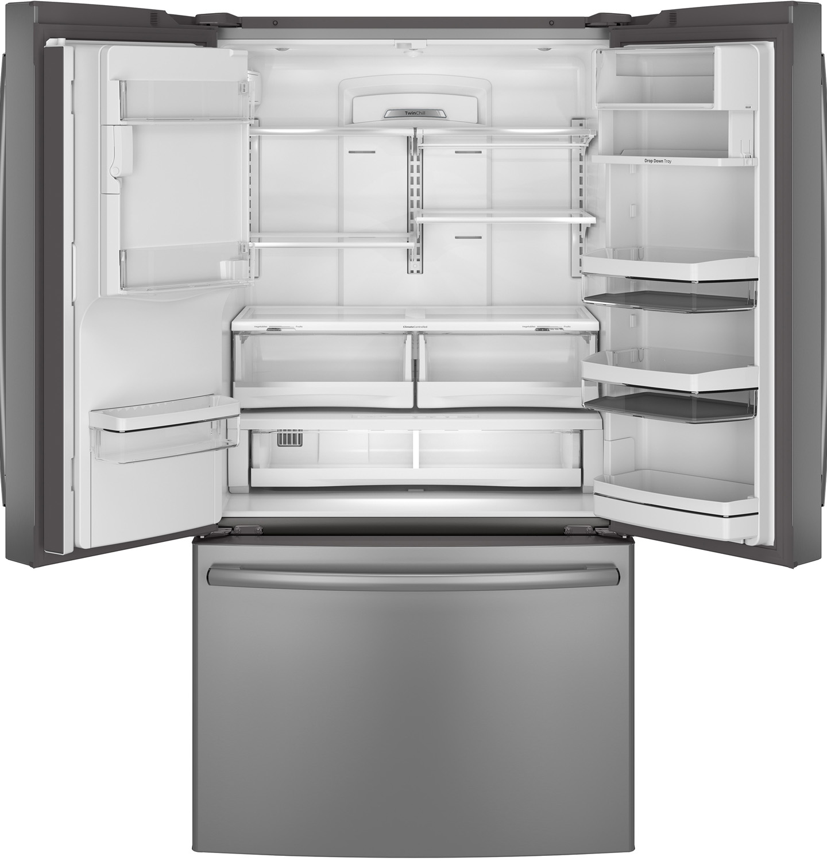 Ge Profile Counter French Door Refrigerator Pye22pshss