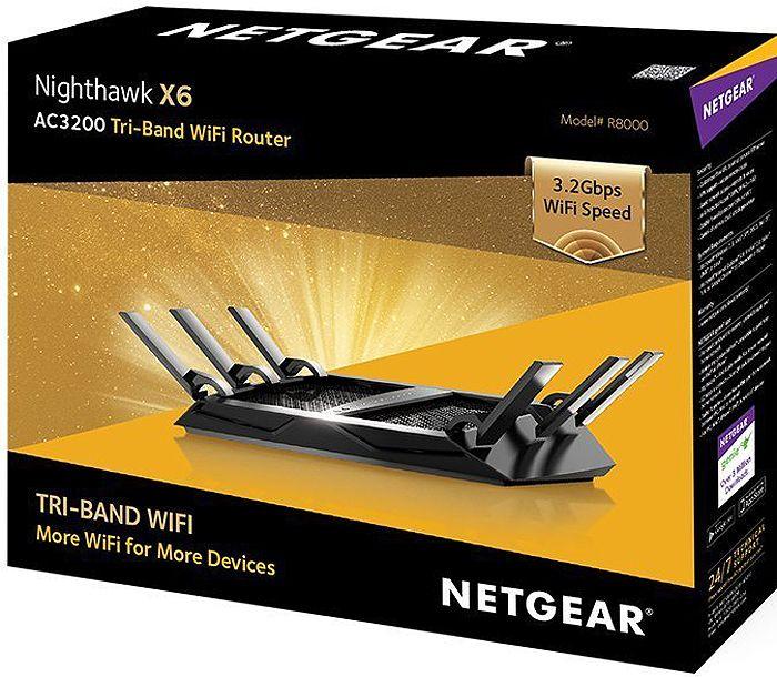 Netgear Nighthawk X6 Tri-Band WiFi Router