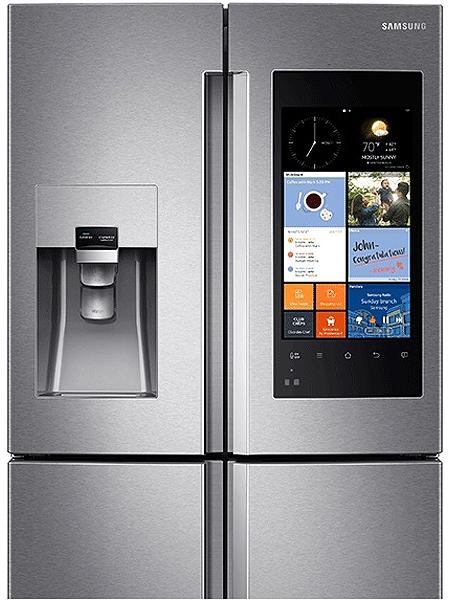 Samsung Stainless Steel 4 Door Refrigerator Rf28k9580sr