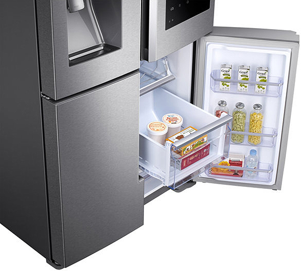 Samsung Stainless 4 Door Flex Refrigerator Rf28m9580sr