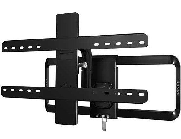 Sanus Black Full Motion Flat Panel Tv Mount Vlf515 B1