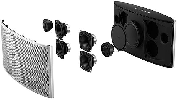 onkyo x9 silver portable bluetooth speaker okax9s 37. Black Bedroom Furniture Sets. Home Design Ideas