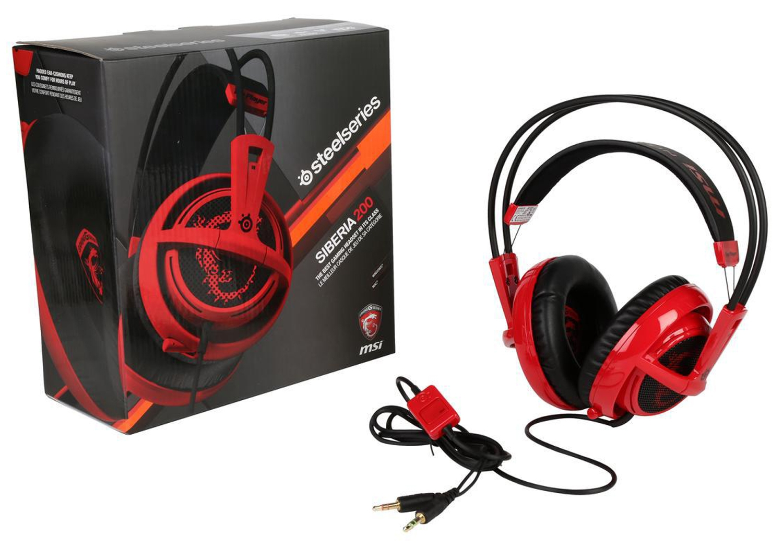 e6c1f7abe86 MSI Steelseries Siberia 200 Gaming Headset - S372100160ST5