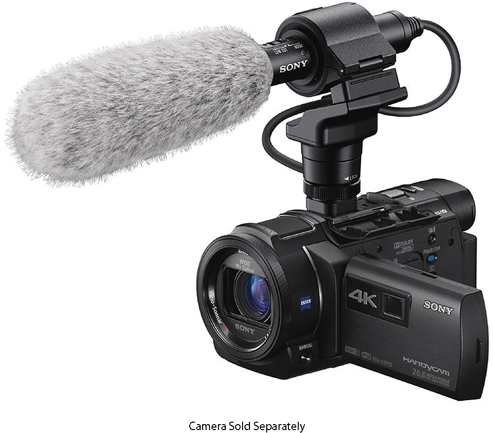 Sony Camcorder Shotgun Microphone ECM CG60