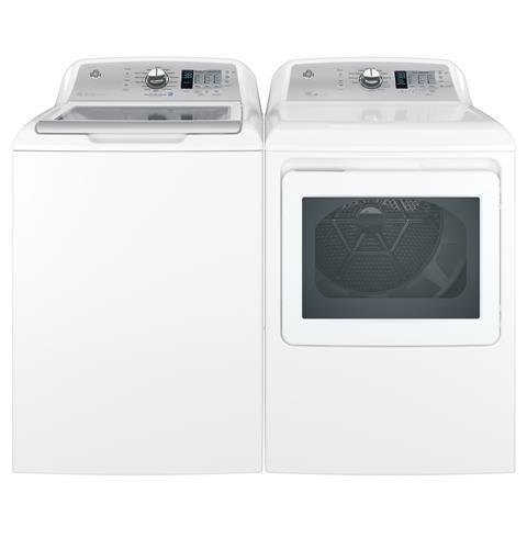 Ge 7 4 Cu Ft Front Loading Electric Dryer Gtd65ebsjws