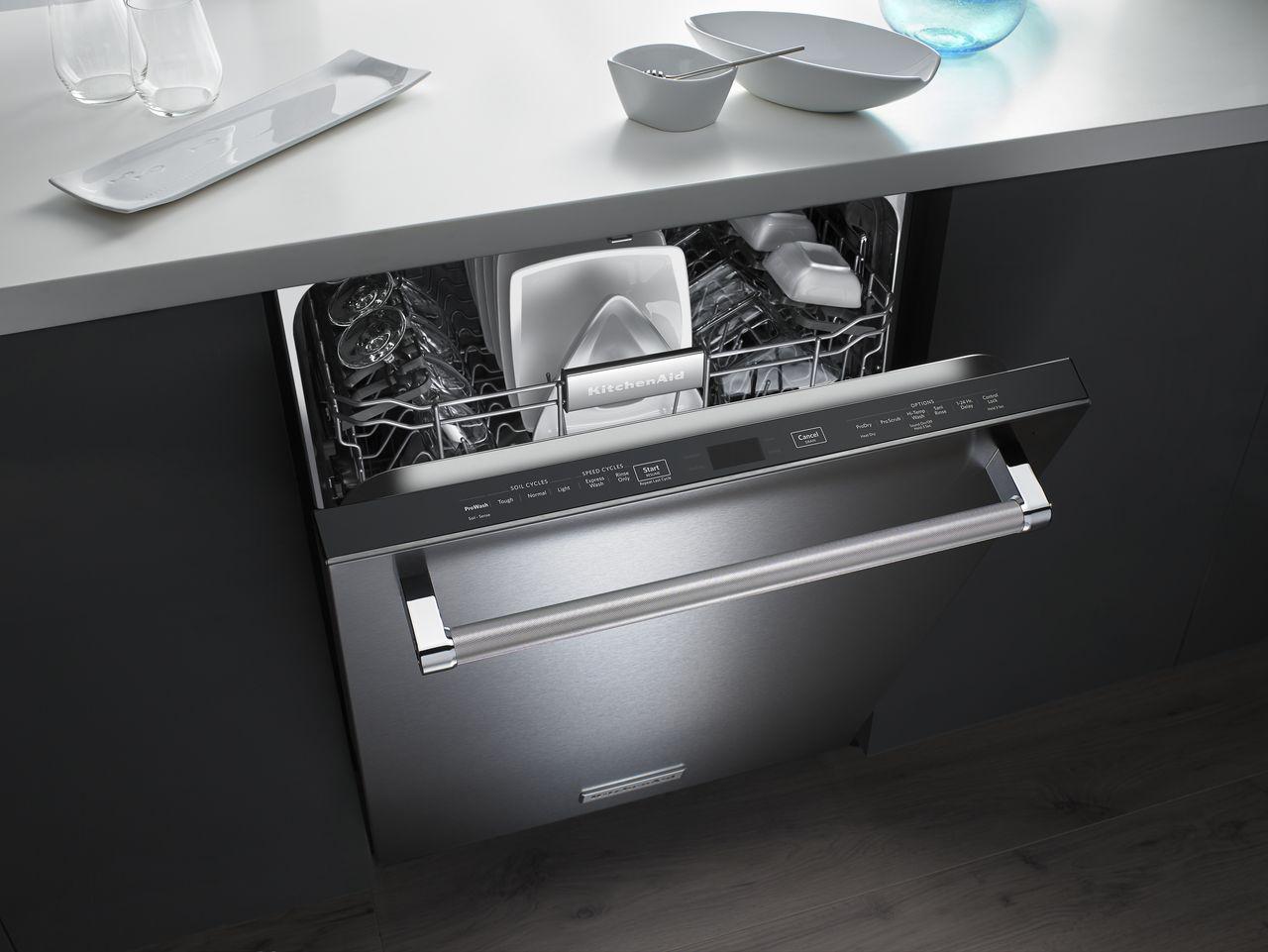 Kitchenaid stainless steel dishwasher