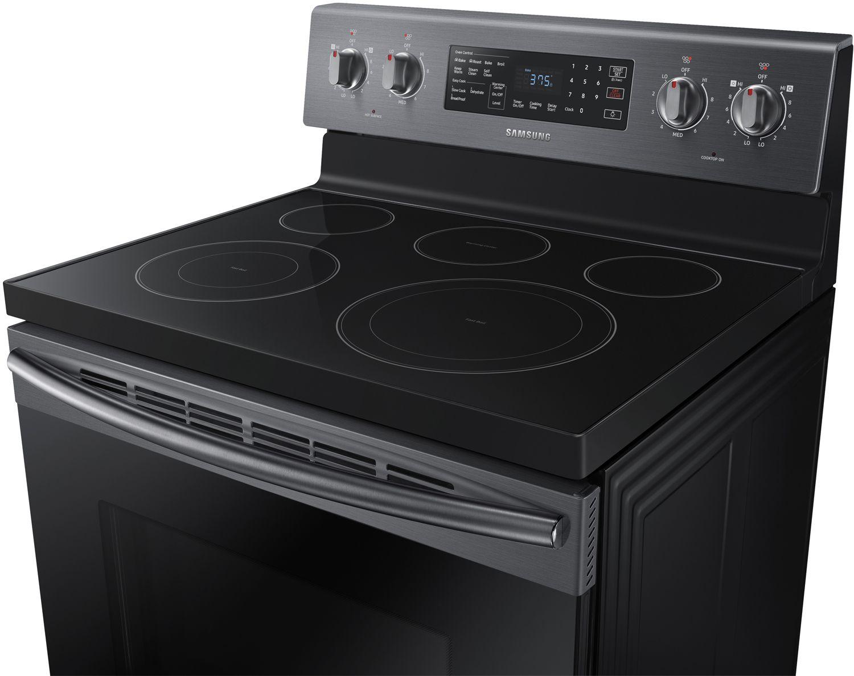 Samsung Black Stainless Steel Electric Range Ne59m4320sg Cord 3wire Power 3 Feet 125 250 V 40 A Universal 5