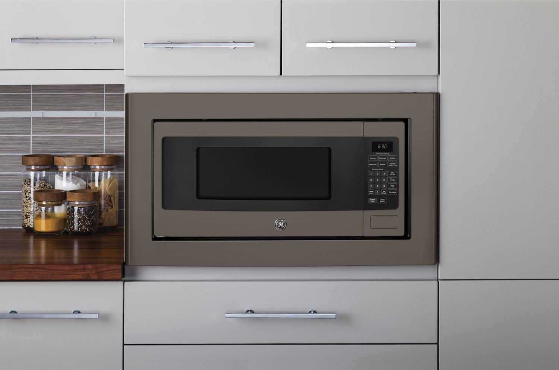 Ge Countertop Microwave Slate : GE Profile Series 1.1 Cu. Ft. Slate Countertop Microwave Oven ...