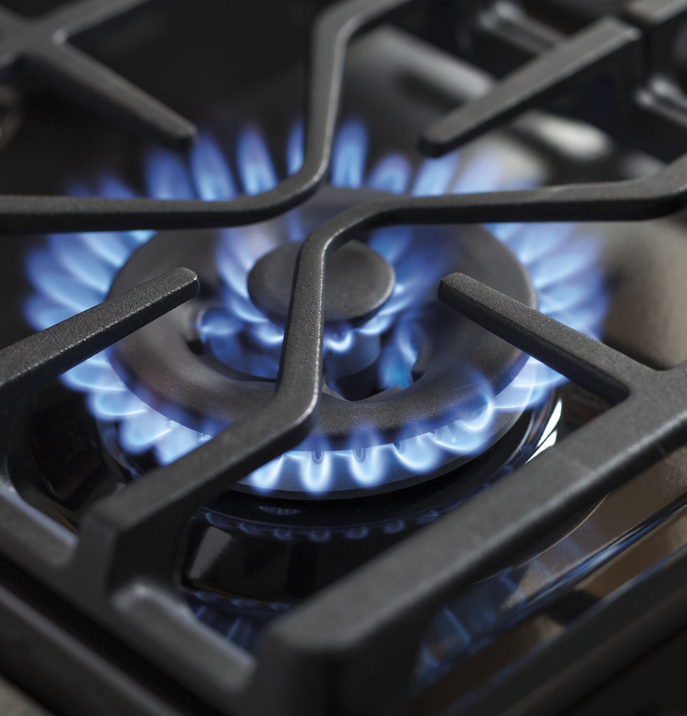 Ge profile 5 burner gas range -  5