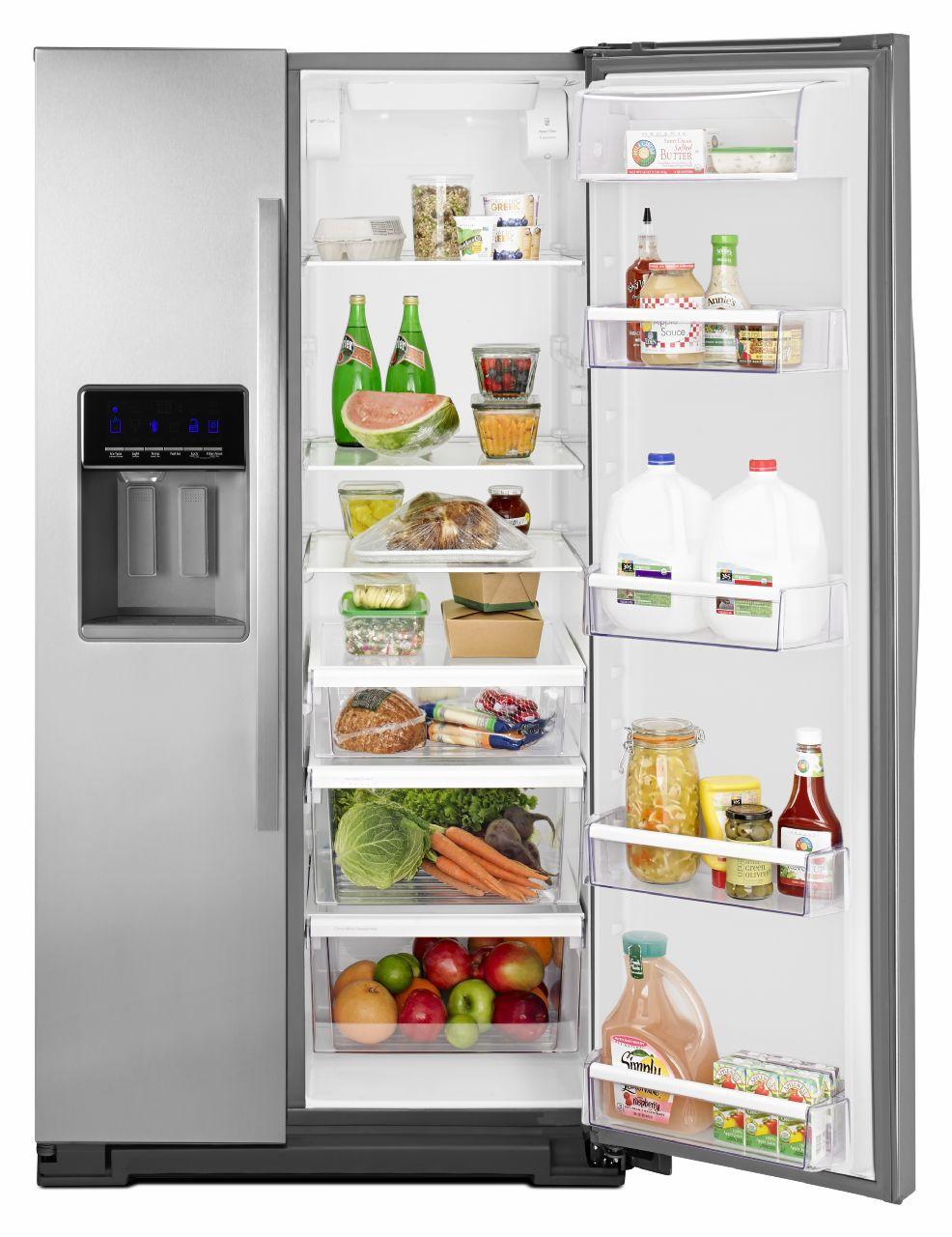 Whirlpool counter side by side refrigerator wrs571cidm 5 rubansaba
