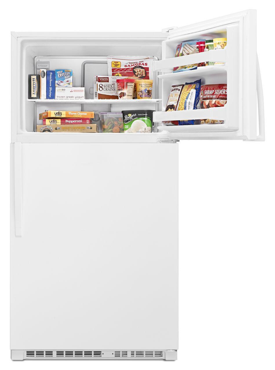 Whirlpool Top-Freezer Refrigerator - WRT311FZDW - Abt