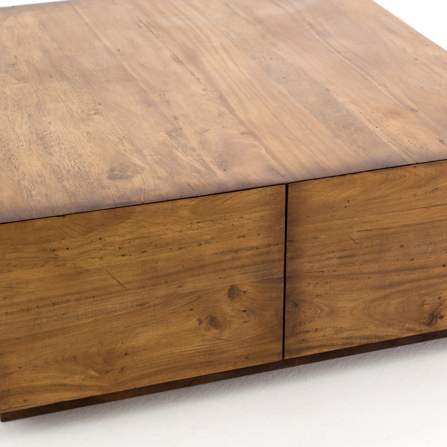 Duncan Storage Coffee Table: Four Hands Harmon Duncan Coffee Table